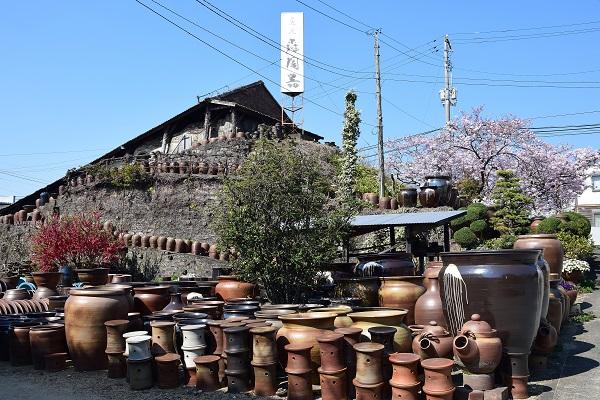 大谷焼窯元春の風景 大浦孝悦