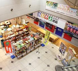 1階エントランス仮店舗