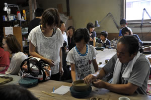 img:大谷焼の作陶体験